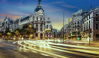 Pension en Madrid